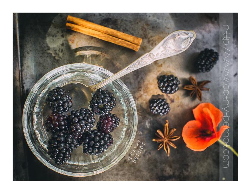 recette du vinaigre de mûres