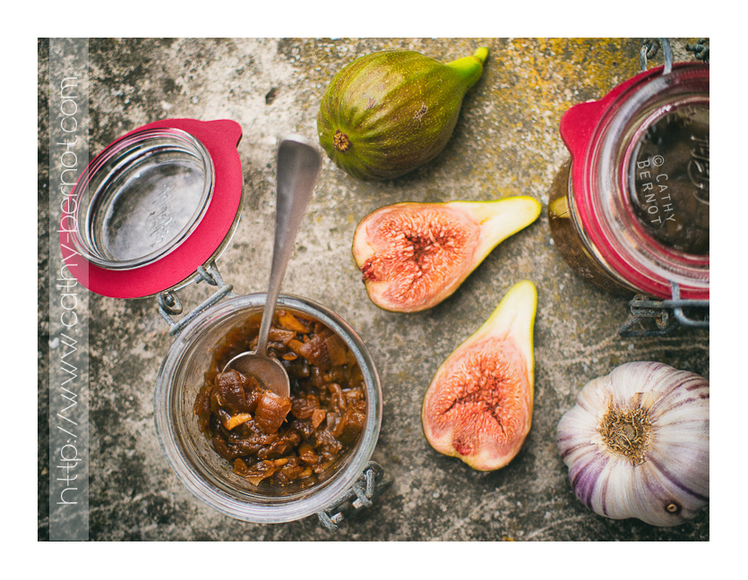 Chutney figues raisins amandes