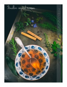 Bouillon végane maison pour soupe miso