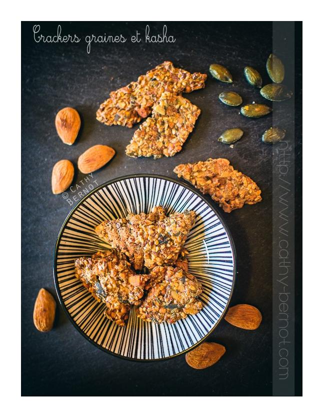 Crackers aux graines et sarrasin kasha