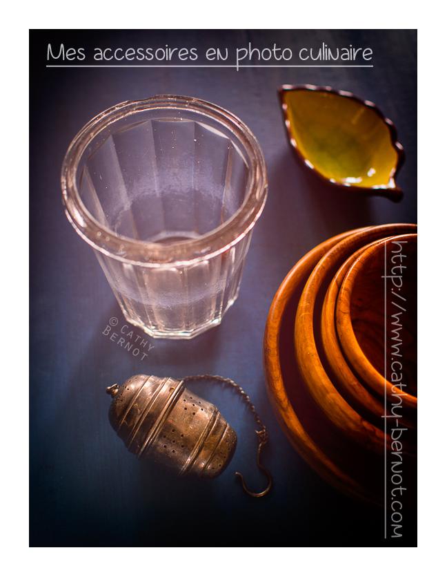 Trouver des accessoires en photo culinaire
