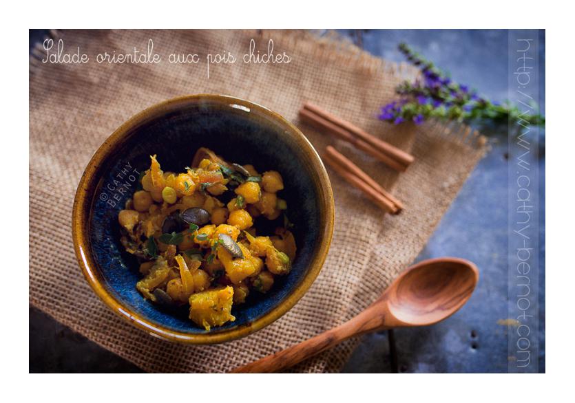 salade orientale pois chiches pommes de terre